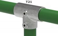 Rohrverbinder für Ø 21,3 mm ½
