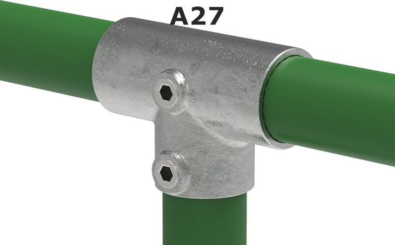Rohrverbinder für Ø 26,9 mm ¾