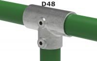 Rohrverbinder für Ø 48,3 mm 1 ½