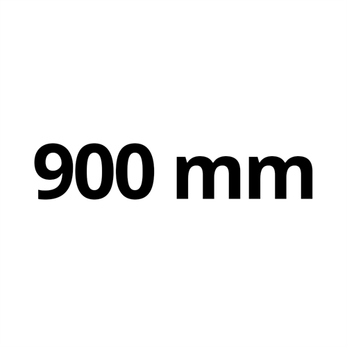 900 mm