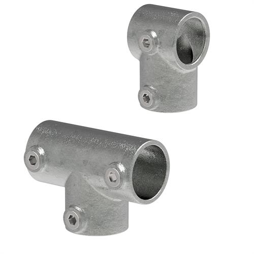 Rohrverbinder Temperguss | T-Stücke