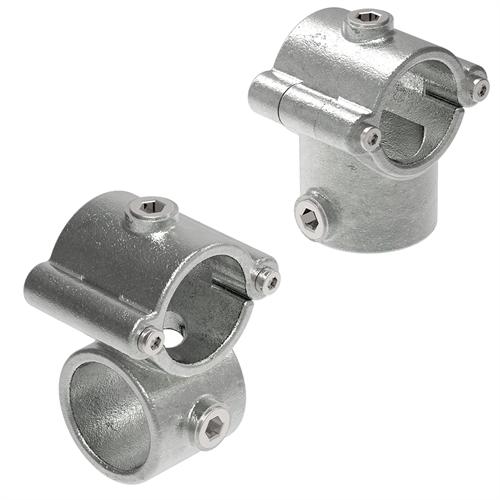 Rohrverbinder Temperguss | Aufklappbare Verbinder
