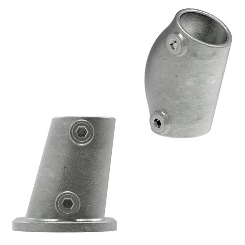 Rohrverbinder Termperguss | Variabler Winkel