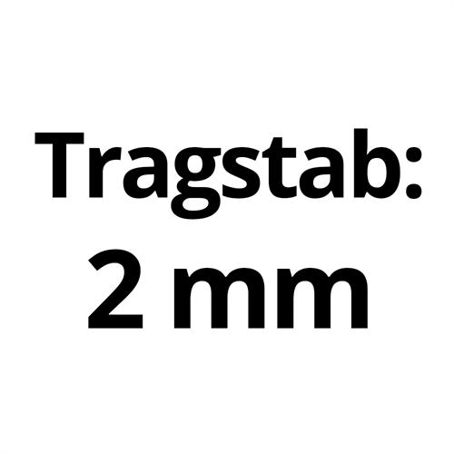 Tragstab 30/2 mm