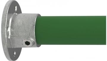 Rohrverbinder 131B34 - Wandbefestigung rund