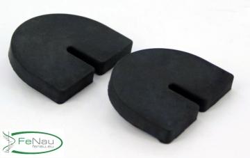 1 Paar Gummis für 8,76 mm Glas VSG für Modell 28