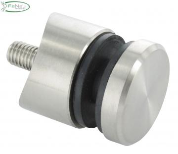 V4A Glas-Punkthalter 30 mm für Ø 42,4 mm