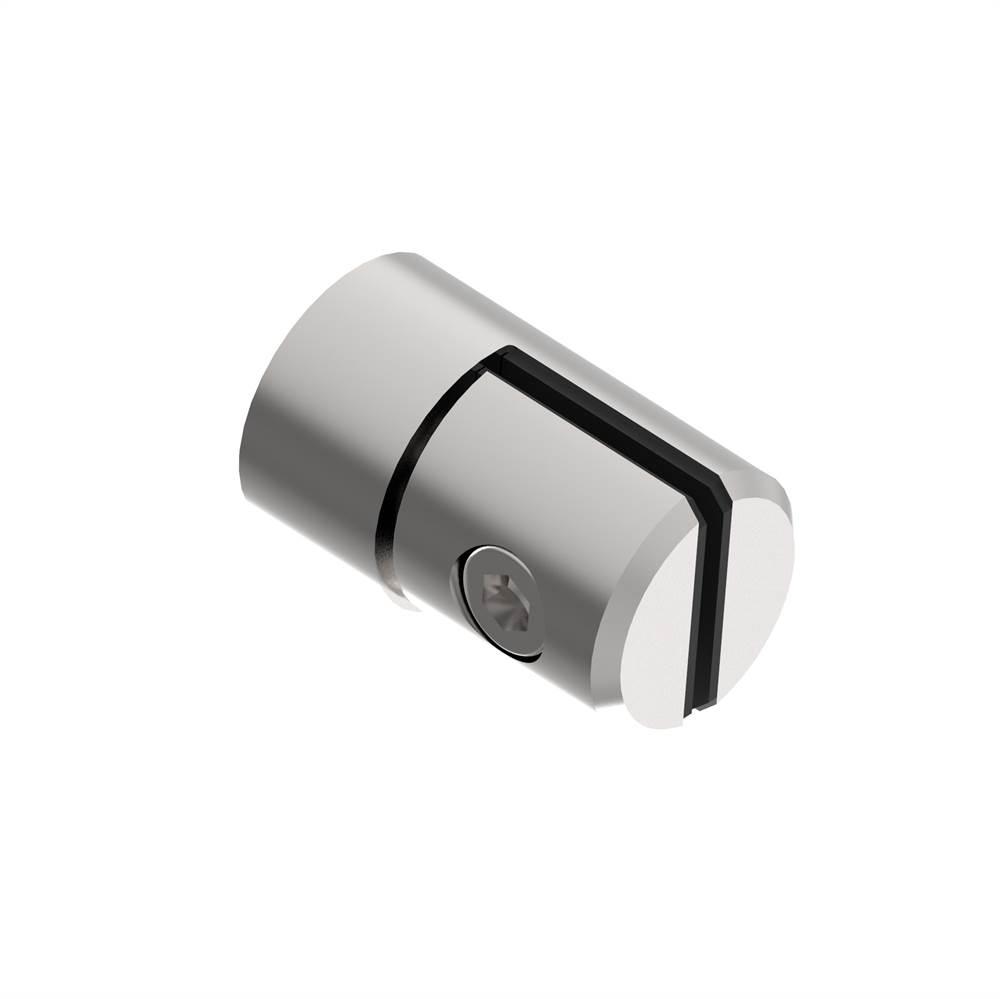 Blechhalter Ø 25 mm | für Anschluss: flach | V2A