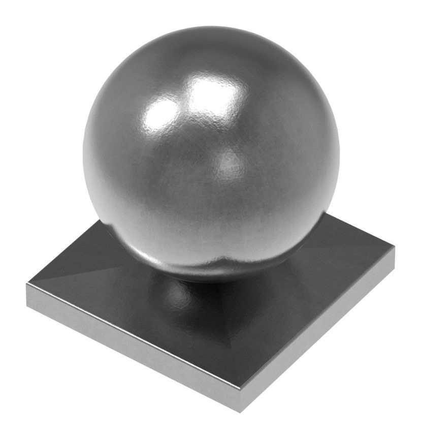 Eisenkugel Vollkugel Stahl Ø 100 mm massiv glatt geschmiedet Stahl S235JR roh