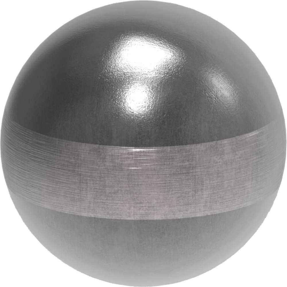 Hohlkugel   Ø 30 mm   Stahl (Roh) S235JR