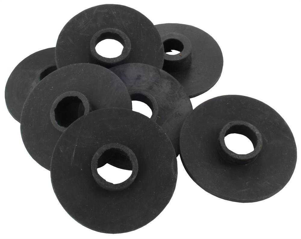1 Paar Gummis Ø 70 mm für Glas-Punkthalter 70 mm