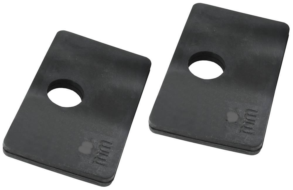 1 Paar Gummis | für VSG Glas: 10,76 mm | Modell 21