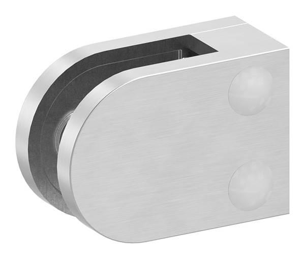 Glasklemme   Maße 40x28x17,4 mm   Anschluss: Flach - Ø 42,4 mm   V2A