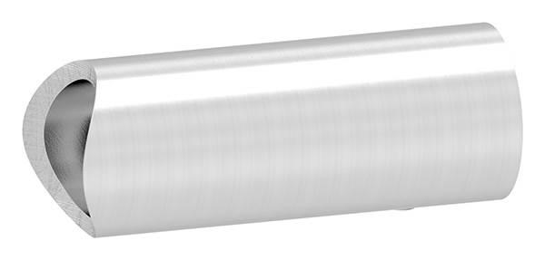 V2A Rohrabstandshalter 45° für Ø 33,7 mm