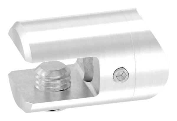 Querstab-Plattenhalter Ø 25 mm mit Anschluss 33,7