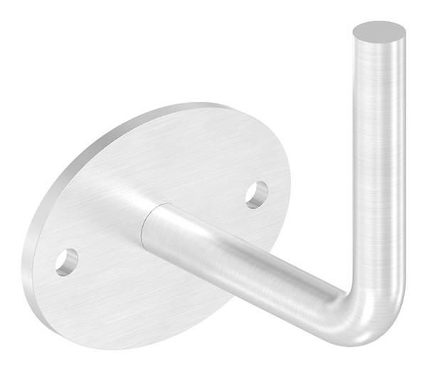 Handlaufhalter mit Ronde 75x4 mm zum Anschweißen V2A