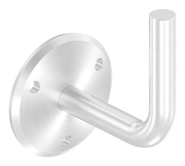 Handlaufhalter mit Ronde 70x5 mm zum Anschweißen V2A