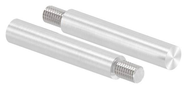Stift | Maße: 75x14 mm | Gewinde: M10x15 mm | zum Anschweißen | V2A