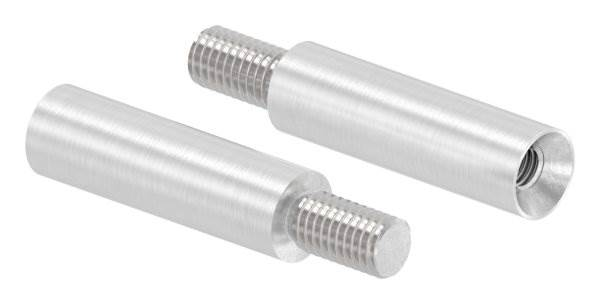 Stift | Maße: 40x12 mm | mit Außen - und Innengewinde | V2A
