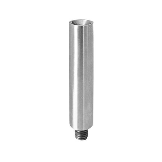 Gewindestift | Maße: 75x12 mm | mit Außen - und Innengewinde | V2A