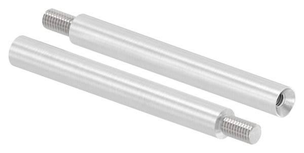 Stift | Maße: 100x12 mm | mit Außen - und Innengewinde | V2A