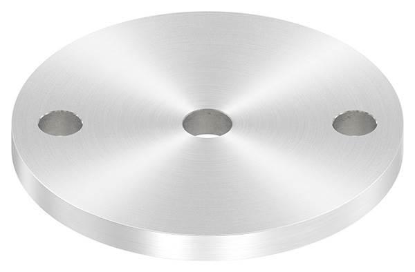Ankerplatte   Ø 100 x 8 mm   mit Zentrierbohrung: Ø 12,5 mm   V2A