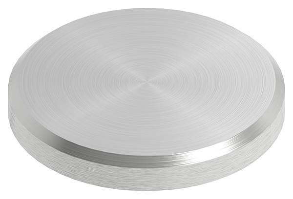 Ronde | Maße: Ø 30x4 mm | mit Rundschliff + Fase | V2A
