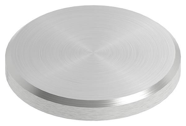 Ronde | Maße: Ø 33x4 mm | mit Rundschliff + Fase | V2A