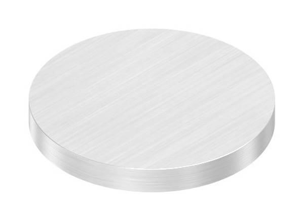 Ronde   Maße: Ø 35x4 mm   mit Längsschliff   V2A