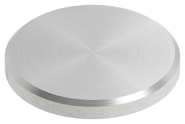 Ronde | Maße: Ø 35x4 mm | mit Rundschliff + Fase | V2A