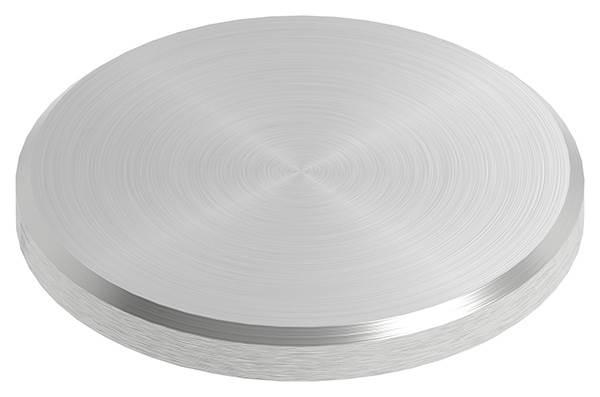 Ronde | Maße: Ø 40x4 mm | mit Rundschliff + Fase | V2A