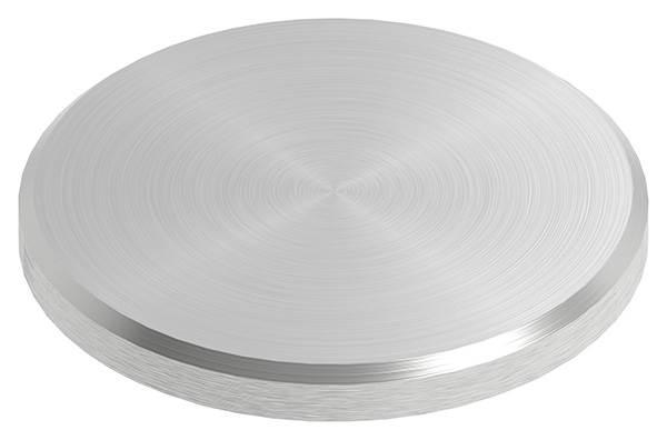 Ronde | Maße: Ø 42x4 mm | mit Rundschliff + Fase | V2A