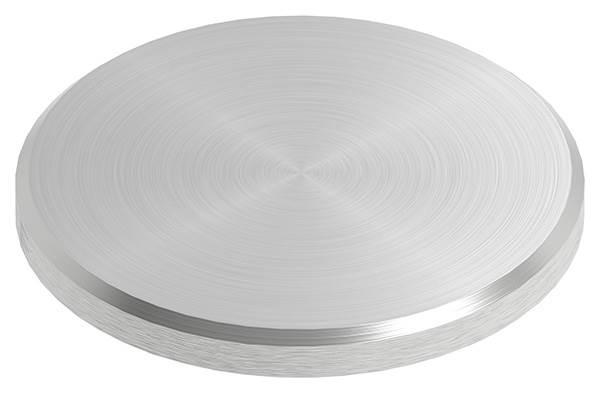 Ronde | Maße: Ø 45x4 mm | mit Rundschliff + Fase | V2A