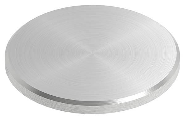 Ronde | Maße: Ø 52x4 mm | mit Rundschliff + Fase | V2A