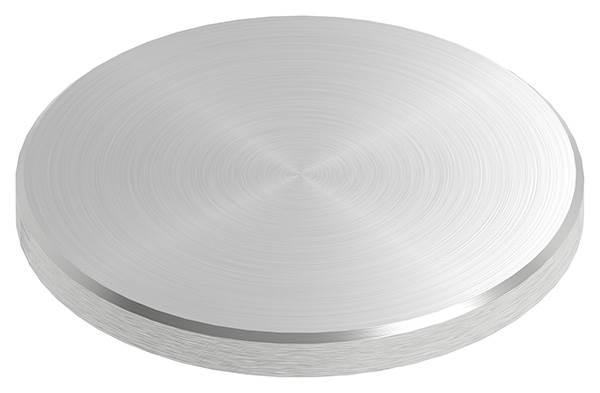 Ronde | Maße: Ø 70x6 mm | mit Rundschliff + Fase | V2A