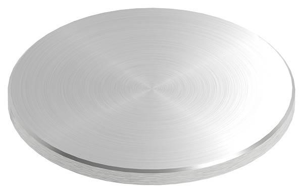 Ronde | Maße: Ø 100x6 mm | mit Rundschliff + Fase | V2A