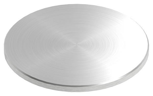 Ronde | Maße: Ø 120x6 mm | mit Rundschliff + Fase | V2A