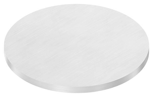 Ronde   Maße: Ø 150x8 mm   mit Längsschliff   V2A