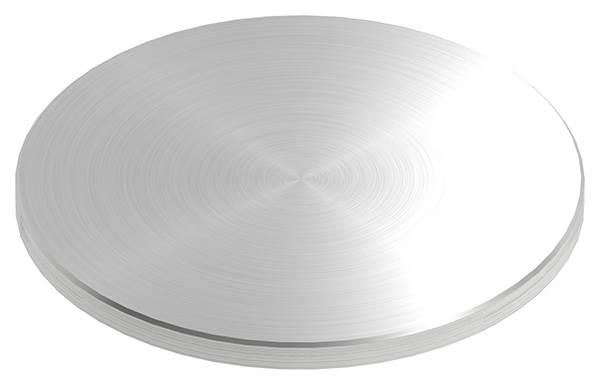Ronde | Maße: Ø 150x8 mm | mit Rundschliff + Fase | V2A