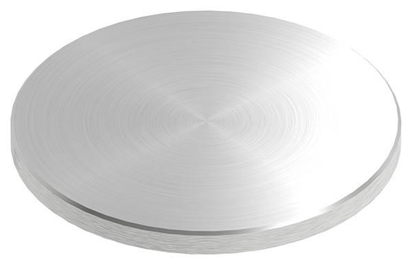 Ronde | Maße: Ø 120x8 mm | mit Fase ohne Bohrung | V2A