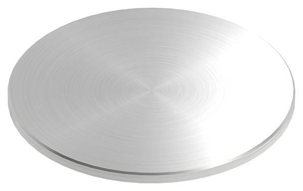 Ronde | Maße: Ø 150x6 mm | mit Rundschliff + Fase | V2A