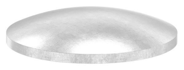 Klöpperboden | Ø 33,7 mm - 48,3 mm | gewölbt | ungeschliffen | V4A