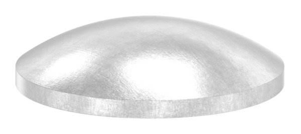Klöpperboden | Ø 21,3x1,5 mm | gewölbt | ungeschliffen | V2A