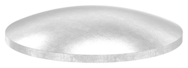 Klöpperboden | Ø 42,4x2,0 mm | gewölbt | ungeschliffen | V2A