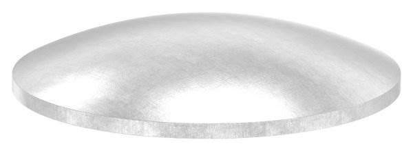 Klöpperboden | Ø 48,3x2,0 mm | gewölbt | ungeschliffen | V2A