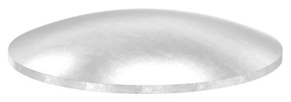 Klöpperboden | Ø 60,3x2,0 mm | gewölbt | ungeschliffen | V2A