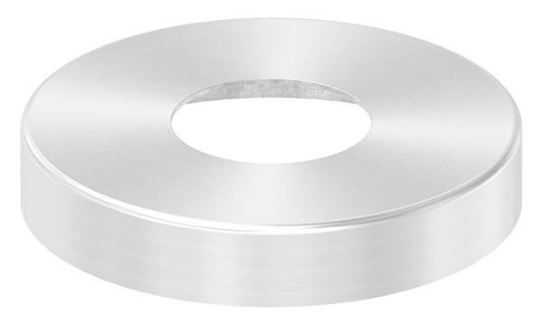 Abdeckrosette | Maße: Ø 85x15 mm | für Rundrohr: Ø 33,7 mm | V2A