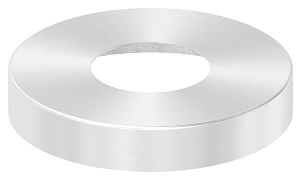 Abdeckrosette | Maße: Ø 145x25 mm | für Rundrohr: Ø 60,3 mm | V2A