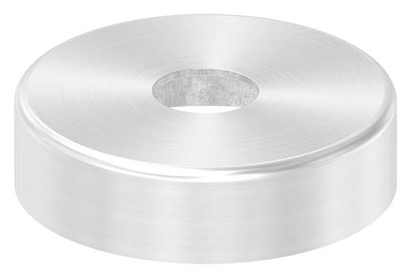 Abdeckrosette   Maße: Ø 45x12 mm   für Rundrohr: Ø 12 mm   V2A