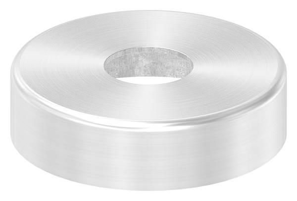 Abdeckrosette   Maße: Ø 45x12 mm   für Rundrohr: Ø 14 mm   V2A